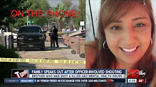 Family of man shot by police speaks out