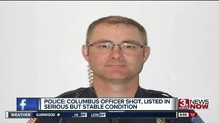 Columbus Police Officer Shot Identified