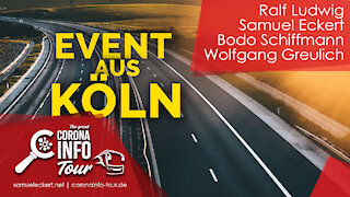 Köln - Polizei löst Event auf - Spontandemos - Mobile Kamera