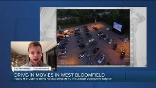 Drive-in movie theater raises money for charity in West Bloomfield