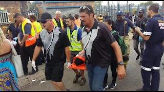 SOUTH AFRICA - Pretoria - Train collision (Videos) (BnZ)