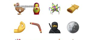 Apple previews new emojis