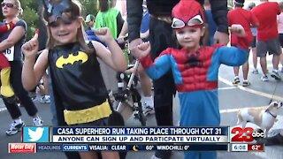 CASA Superhero Run taking place through October 31s