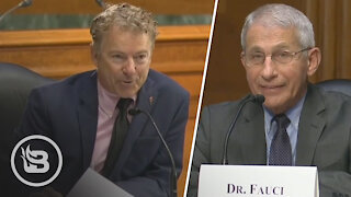 Rand Paul EXPOSES Dr. Fauci on Live TV in FIERY Moment