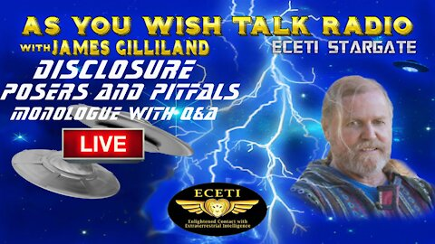 James Gilliland - As You Wish Talk Radio LIVE Removed From YouTube