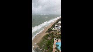 *HUGE* tropical storm