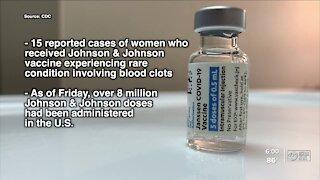 Johnson & Johnson vaccine continues distribution in Florida