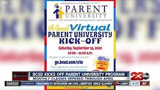 BCSD kicks off Parent University Program
