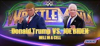 Donald Trump vs Joe Biden WWE 2K20