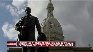 Lawmakers at odds as they prepare to discuss extending the state of emergency order