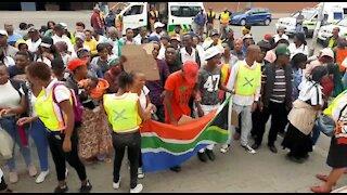 SOUTH AFRICA - Pretoria - Mawiga Service Delivery Protest (wBB)