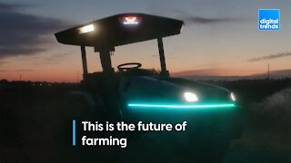 The world's first smart tractor!
