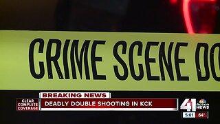 Man dead, woman injured in KCK shooting