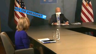 Biden Refuses To Answer Simple Question.