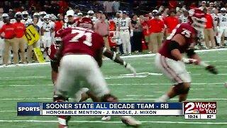 State of Oklahoma All Decade Team - Running Backs