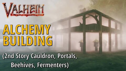 Alchemy Building (Multi-Purpose) - Valheim