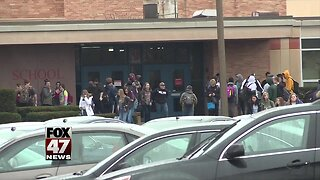 Students show support for well-liked teacher