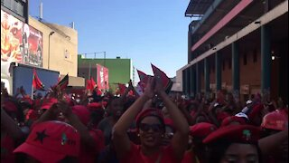 SOUTH AFRICA - Johannesburg - EFF women's march at Constititional Court (videos) (FHT)