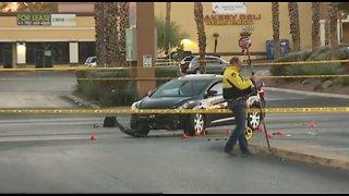 Police investigate critical crash involving pedestrian in east Vegas