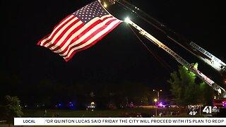 Fallen officer: Grieving family feels support