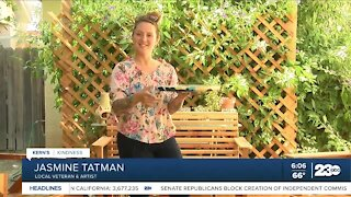 Kern's Kindness: Veteran uses art to help herself and others with PTSD
