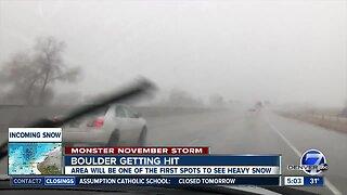 Storm moves into Colorado