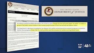 City of Kansas City, Missouri, faces DOJ civil rights investigation
