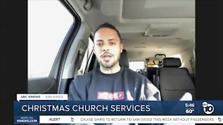 Christmas church services in a pandemic