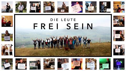 Die Leute - Frei SEIN (Freiheits-Musikvideo)