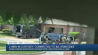 Two men arrested in connection to Broken Arrow's double homicide
