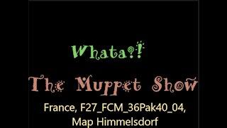 Muppet Show: France, F27_FCM_36Pak40_04, Map Himmelsdorf