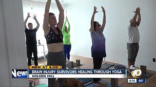 San Diego brain injury survivors healing through yoga