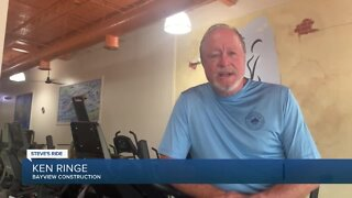Steve's Ride: Bayview Construction makes $2,500 donation to Red Cross