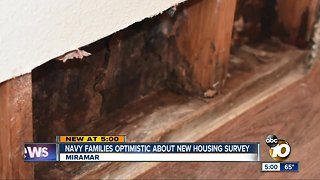 Navy families optimistic about new housing survey