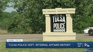 Internal report shows rise in complaints against Tulsa Police Department