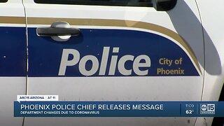 Phoenix police taking precautions amid outbreak