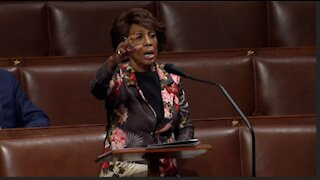Maxine Waters calling out you are not a patriot if you are not a patriot all the time
