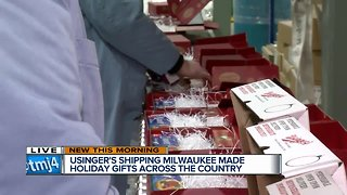 Usinger's gift boxes shipped across the country