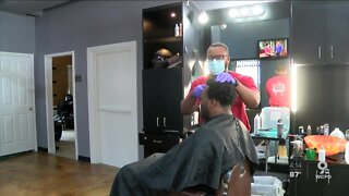 Barber/Gym Owner give back to the community
