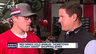 Red Wings host annual shopping spree with a surprise twist