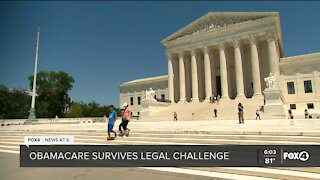 Supreme Court upholds Affordable Care Act, keeping Obamacare in place