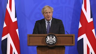 U.K. PM Keeps England's COVID Restrictions In Place
