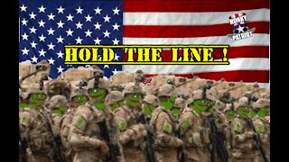 BIDEN ATTACKING OUR TROOPS AND PEPE THE FROG !
