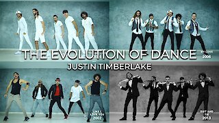 Dance crew demonstrates the evolution of Justin Timberlake's dance