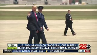 Ag Report: United States, Japan agree on limited trade deal benefiting farmers