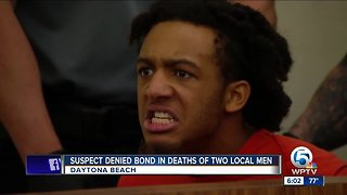 Suspect denied bond in deaths of two Palm Beach County men