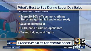 Labor Day sales coming soon!