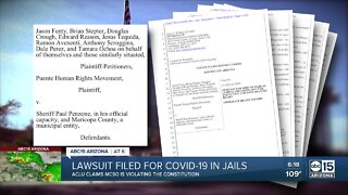 Lawsuit filed over coronavirus response in jails