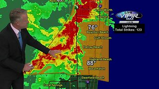 Severe weather threat in Palm Beach County