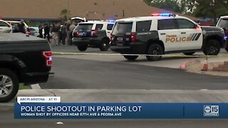 Peoria police shoot woman after shooting at officers; investigation underway